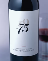 75 Wines Wine Label and Package Design Thumbnail