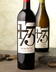 Bench 1775 Canada Wine Label and Package Design Thumbnail