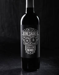 Boneshaker Wine Label and Package Design Thumbnail