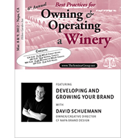 CF Napa's David Schuemann Presents at the Best Practices for <i>Owning and Operating a Winery Conference</i>