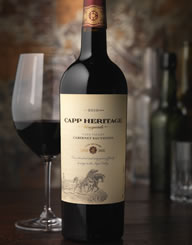 Capp Heritage Wine Label and Package Design Thumbnail