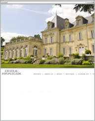 Chateau Fonplegade Website Thumbnail