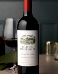 Chateau Fonplegade Wine Label and Package Design Thumbnail