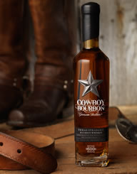 Cowboy Bourbon Spirits Label and Package Design Thumbnail