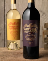 Cowgirl Sisterhood Wine Label and Package Design Thumbnail