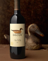Decoy Wine Label and Package Design Thumbnail