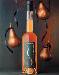 Domaine Chandon Pear Liqueur Label and Package Design Thumbnail