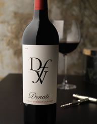 Donati Family Vineyards Wine Label and Package Design Thumbnail