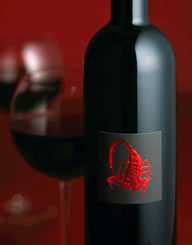 El Alacran Wine Label and Package Design Thumbnail
