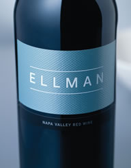 Ellman Wine Label and Package Design Thumbnail
