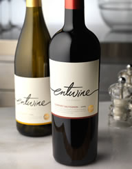 Entwine Wine Label and Package Design Thumbnail