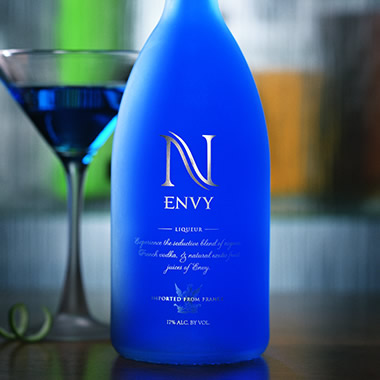 Envy Spirits Label and Package Design Thumbnail