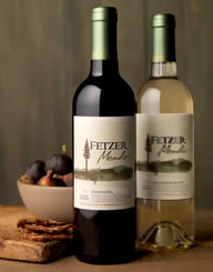 Fetzer Mendo Wine Label and Package Design Thumbnail
