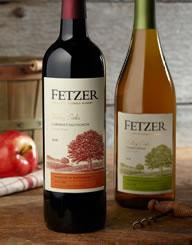 Fetzer Vineyards Wine Label and Package Design Thumbnail