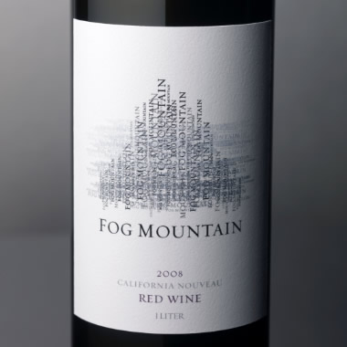 Fog Mountain Wine Label and Package Design Thumbnail