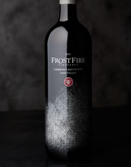 FrostFire Wine Label and Package Design Thumbnail