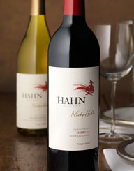 Hahn Winery Wine Label and Package Design Thumbnail