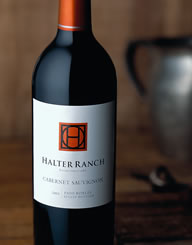 Halter Ranch Wine Label and Package Design Thumbnail