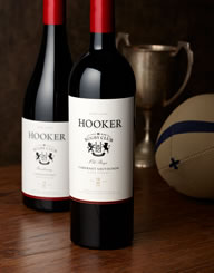Hooker Winer Label and Package Design Thumbnail