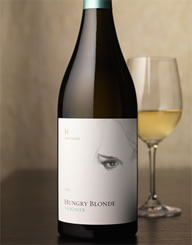 Hungry Blonde Wine Label and Package Design Thumbnail