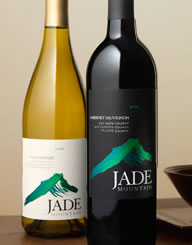 Jade Mountain Wine Label and Package Design Thumbnail