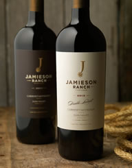 Jamieson Ranch Wine Label and Package Design Thumbnail