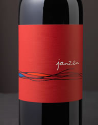 Janzen Napa Valley Wine Label and Package Design Thumbnail