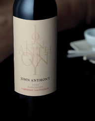 John Anthony Wine Label and Package Design Thumbnail