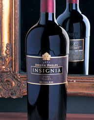 Joseph Phelps Insignia Wine Label and Package Design Thumbnail