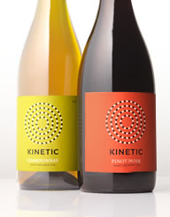 Kinetic France Wine Label and Package Design Thumbnail