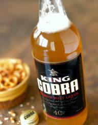 King Cobra Spirits Label and Package Design