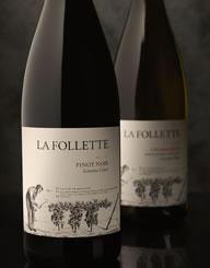 La Follette Wine Label and Package Design Thumbnail