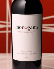 Monogamy Wine Label and Package Design Thumbnail