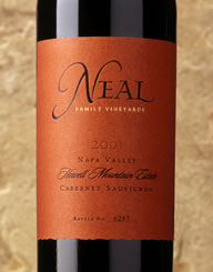 Neal Family Wine Label and Package Design Thumbnail