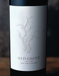 Old Ghost Wine Label and Package Design Thumbnail