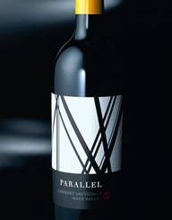 Parallel Napa Valley Wine Label and Package Design Thumbnail