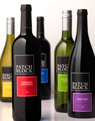 Patch Block France Wine Label and Package Design Thumbnail