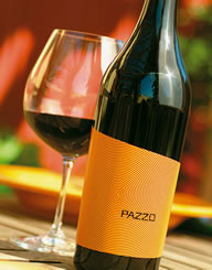 Pazzo Wine Label and Package Design Thumbnail