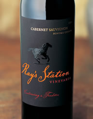 Rays Station Wine Label and Package Design Thumbnail