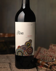 Risa Wine Label and Package Design Thumbnail