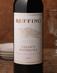 Ruffino Italy Wine Label and Package Design Thumbnail