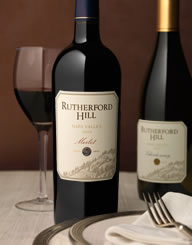 Rutherford Hill Wine Label and Package Design Thumbnail