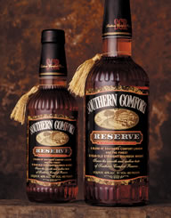 Southern Comfort Reserve Spirits Label and Package Design Thumbnail