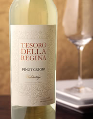 Tesoro Della Regina Italy Wine Label and Package Design Thumbnail
