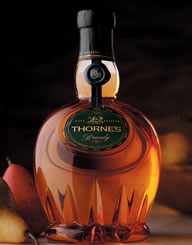Thornes Brandy Spirits Label and Package Design Thumbnail