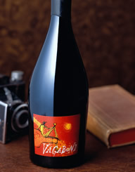 Vagabond Wine Label and Package Design Thumbnail