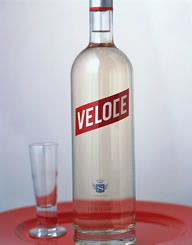 Veloce Spirits Label and Package Design Thumbnail
