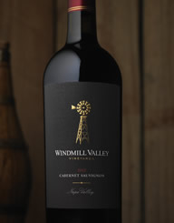 Windmill Valley Wine Label and Package Design Thumbnail