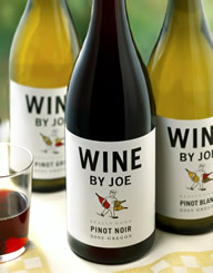 Wine By Joe Wine Label and Package Design Thumbnail