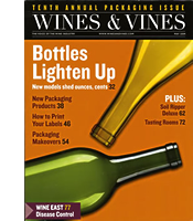 Wines & Vines – 10th Annual Packaging Issue
